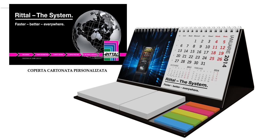 Utilitate maxima si stil in calendarele de birou RITTAL