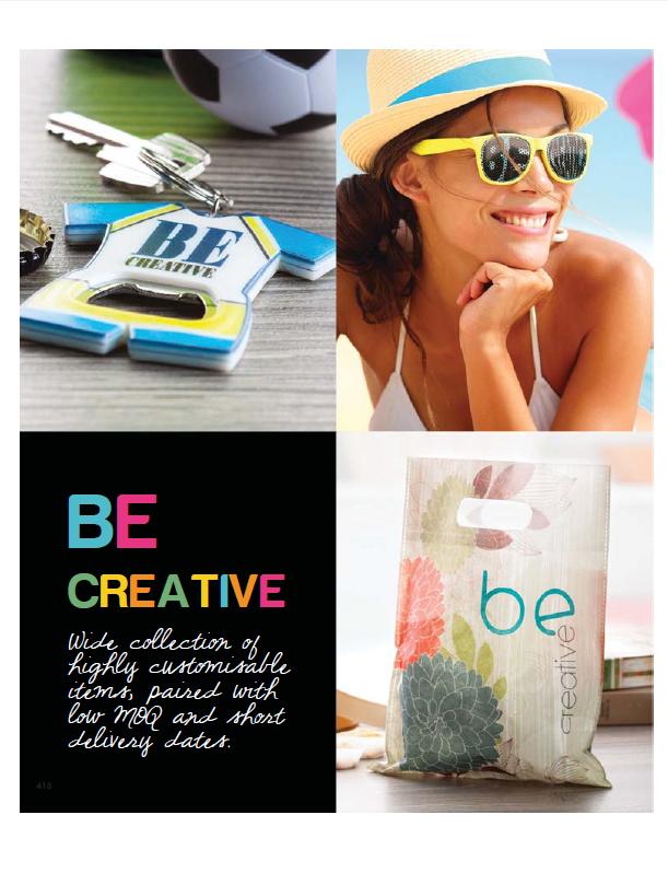 Catalog Be Creative 2014
