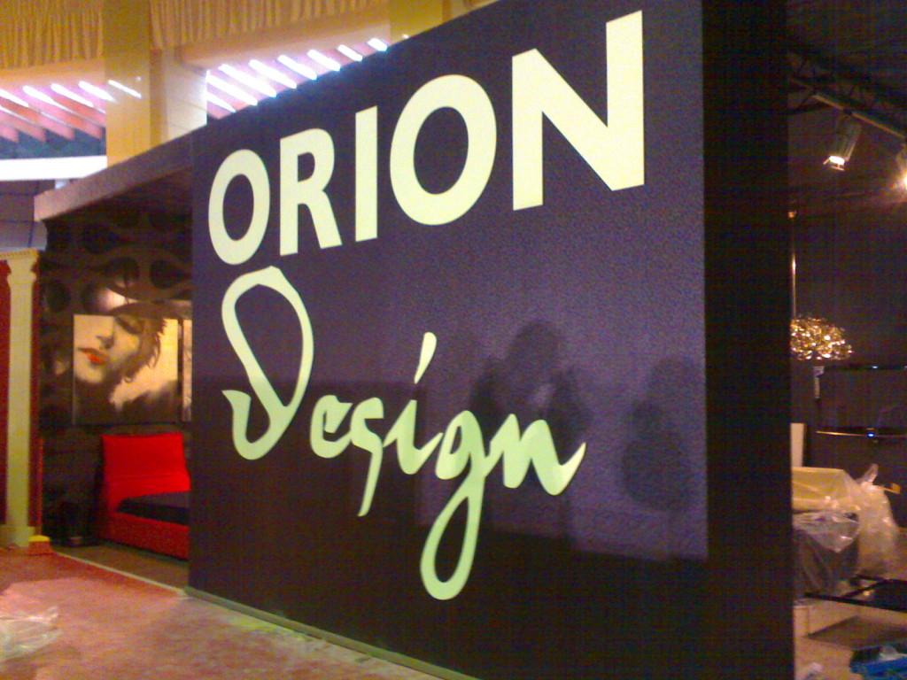 Stand de prezentare Orion Design