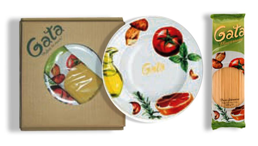 Pachet promotional pentru pastele Gata de la Pambac
